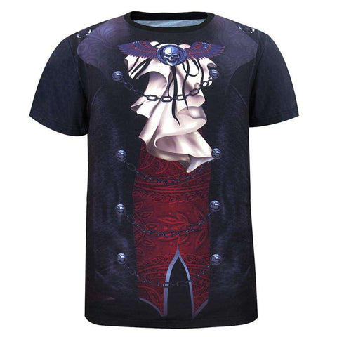 3D T-Shirt Carnival Costumes Clothes