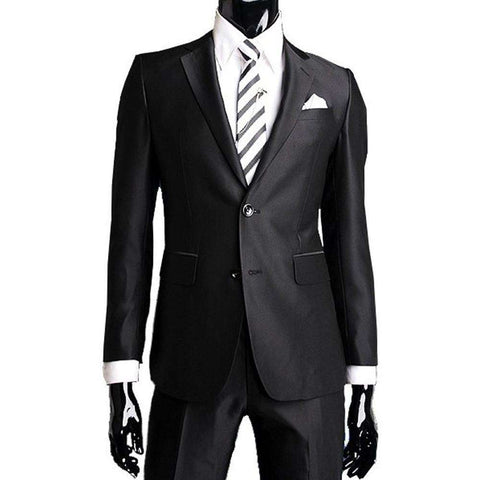 Elegant Men Suits Slim Fit Custom Business Formal blazer