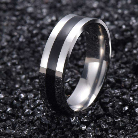 316L Stainless Steel Solid Ring Women
