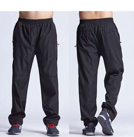 Exercise Pants Quickly Dry Men's Active Pants Men Physical Trousers