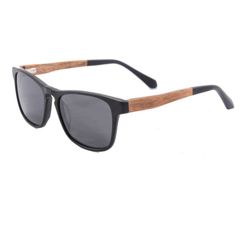 Acetate Frame Wood Sunglasses Men Polarized Lense