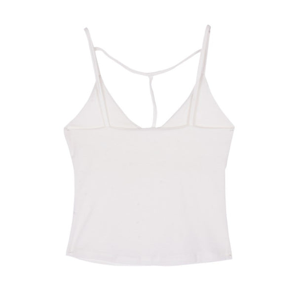 Women Casual Tight-fitting V-neck Sleeveless Tanks