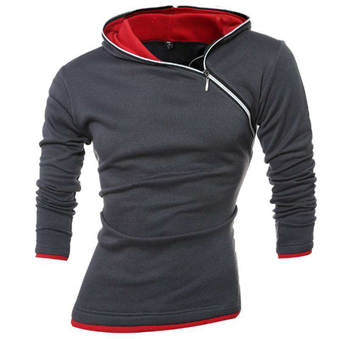 Hoodies Men Sweatshirt Zipper