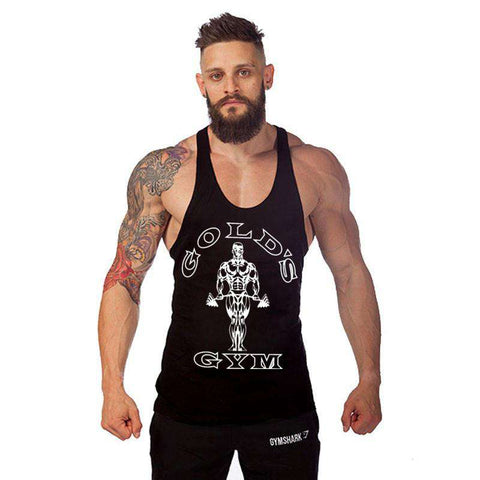 Golds Stringer Mens Sleeveless Cotton Tank