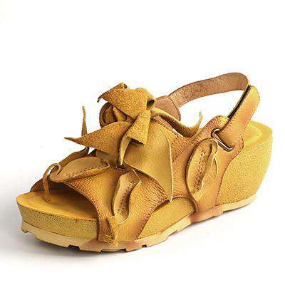 Leather Women Sandals Handmade