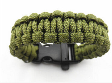 Survival Parachute Cord Bracelet For Women
