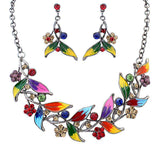 Fashion Bridal Jewelry With Statement Necklace Earrings Women