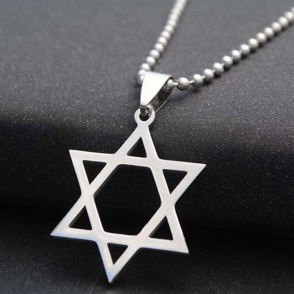 Solomon Seal Israel Jewish Star Necklace