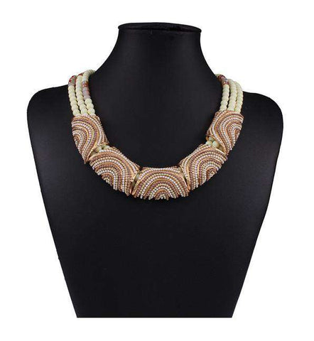 Bohemia Handmade Choker Beads Necklaces