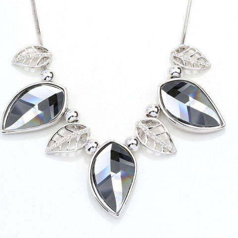 Crystal Jewelry Statement Women Necklace Chain Necklaces or Pendants