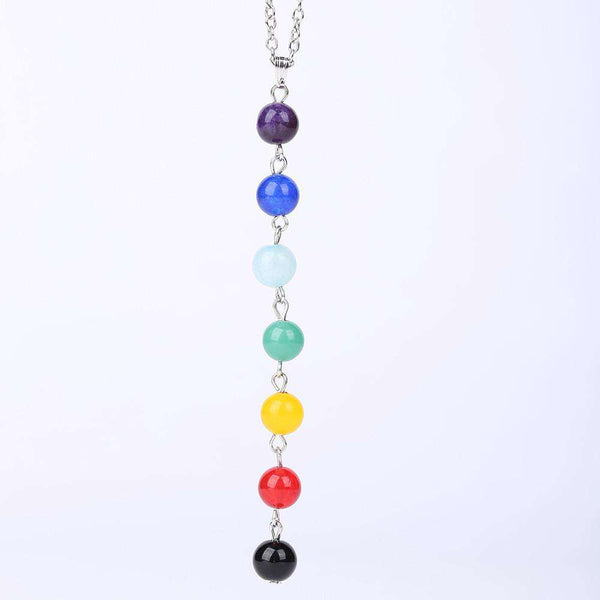 7 Chakra Colorful Necklace