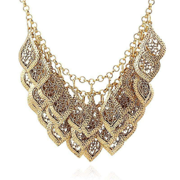 Jewelry Necklace Women Imitation Alloy Retro Style