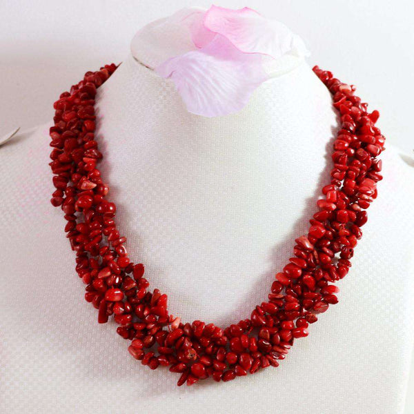 Irregular Gravel Chips Beads Necklace women jewelry