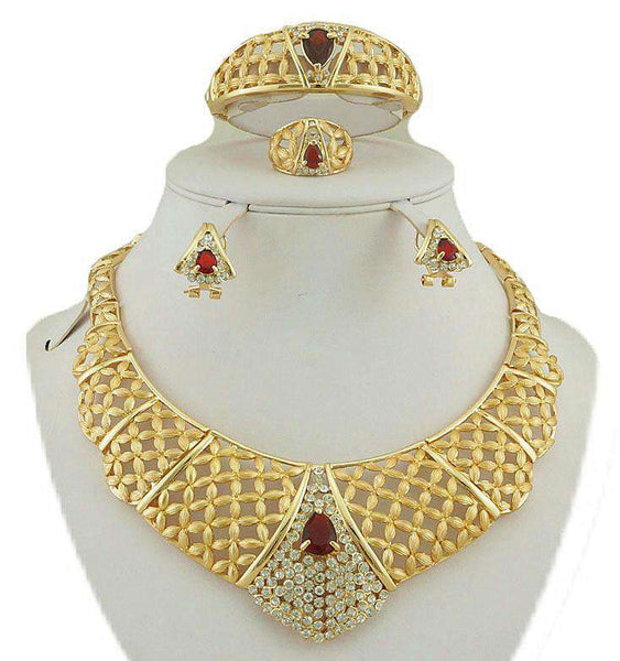 Gold Jewelry Sets Color Guaranteed High Quality