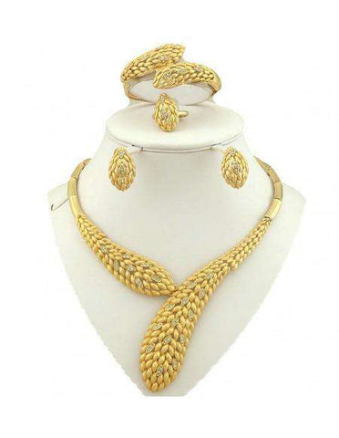 African Gold Jewelry Sets