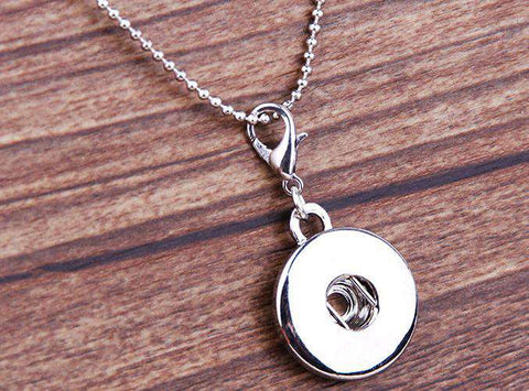 Clasp Lock Snap Pendants for women