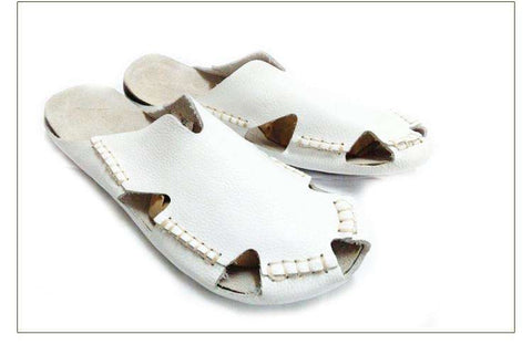 Casual Leather Flat Fisherman Sandals