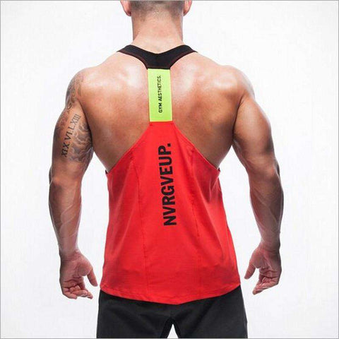 Athletics Slim Fitted Cotton Gym Tank Top