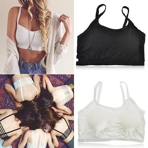Women's Sexy Bralette Caged Back Cut Out Strappy