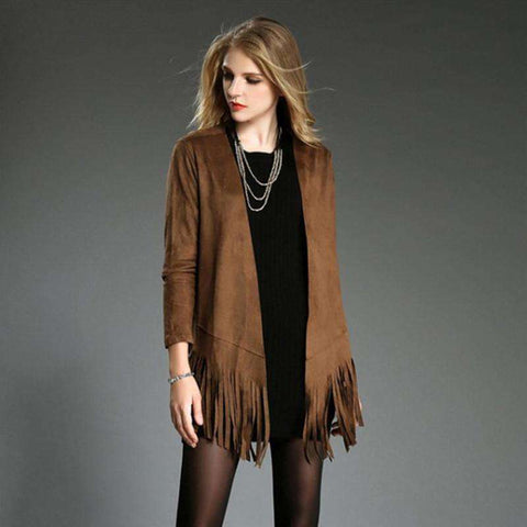 New Women Long Sleeve Cardigan Outwear