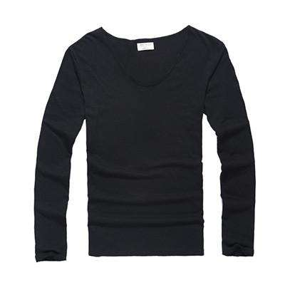 Cotton Long Sleeve T shirt for Mens