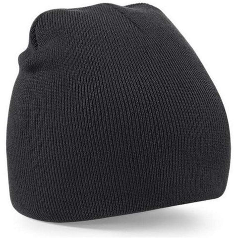 Knitted Beanie Solid Hat Unisex