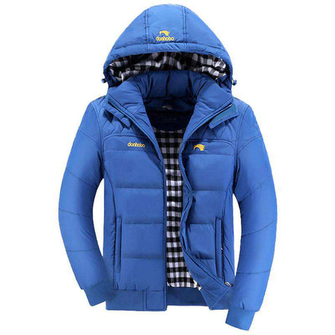 Hood Winter Jacket Coat Men