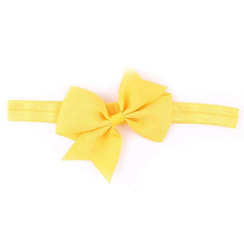 Enduring women Baby Girls Elastic Headbands Headband