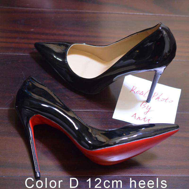 cc37ea9886e Women Pumps Spike Red Bottom Shoes High Heels – Offer Factor