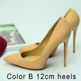 Women Pumps Spike Red Bottom Shoes High Heels