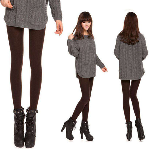Fabulous Fashion Women Velvet Tights Female