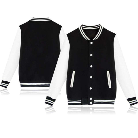 Casual Baseball Jacket for Men Fashion