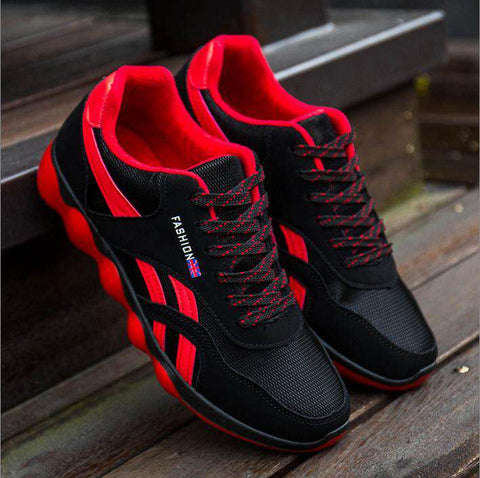 Air Mesh Low Board Breathable Casual Shoes Men's Sneakers
