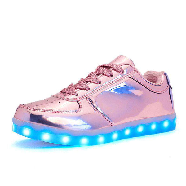 Led Light Shoes Adult Usb Charging Lovers Women