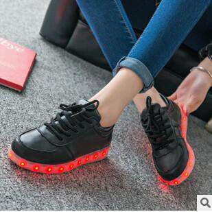 Casual Unisex Shoes Leaders led Fashion