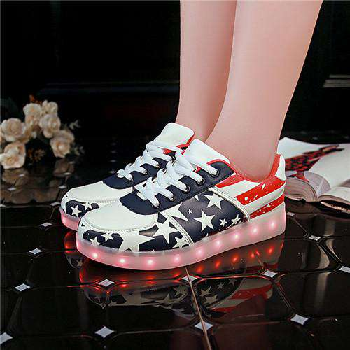 Children Shoes Light up Led luminous Shoes women