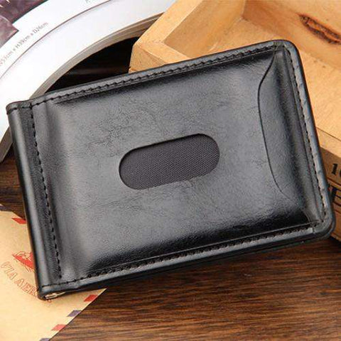 Men's Wallets Short Zipper Coin Bag Purses Creative