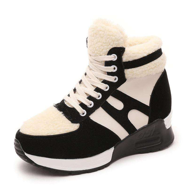 Casual Shoes Women Height Increasing Wedges