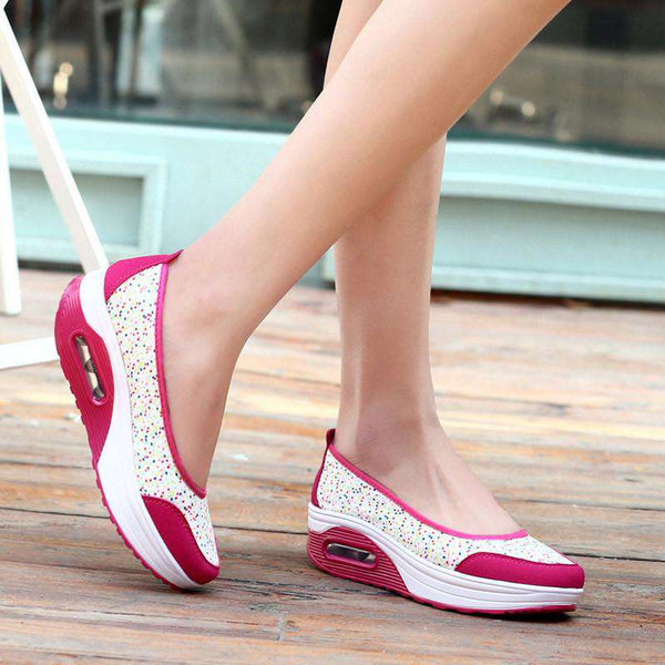 Casual shoes woman wedges