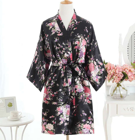 Nightgown Sleepwear Women kimonos