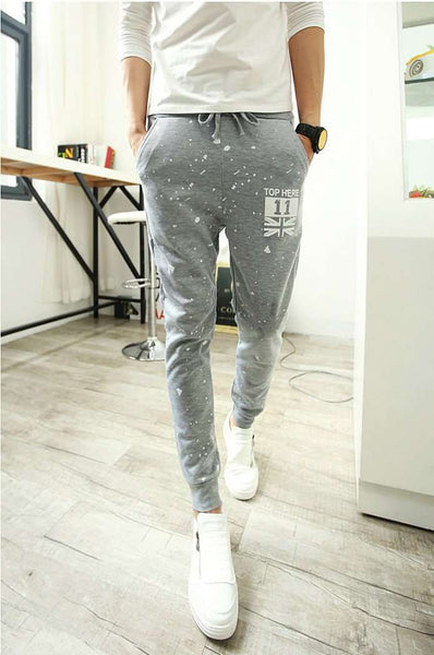 Casual Outwear Sweatpants Slim Clothing Mens Joggers