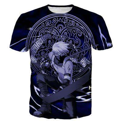 Men Casual Vintage 3D T Shirt Cool
