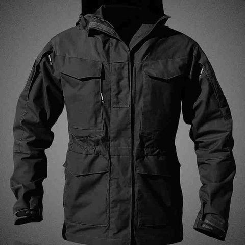 Casual Tactical Outdoors Windbreaker Men Military Field Jacket