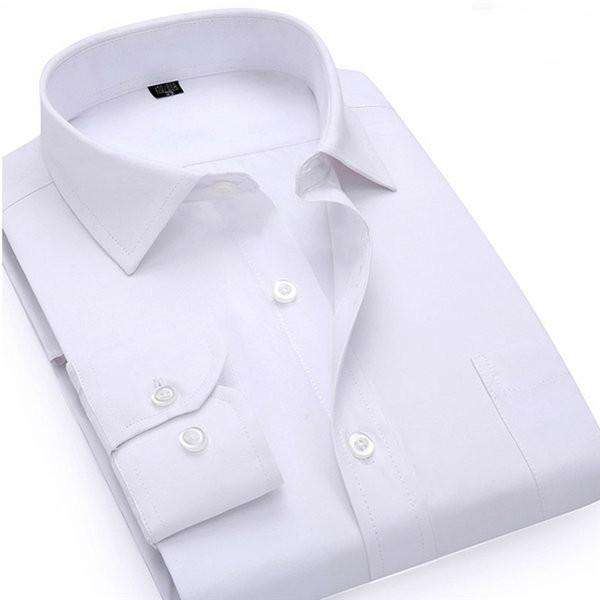 Dress Shirt Men's Long Sleeve Social Slim Fit Casual