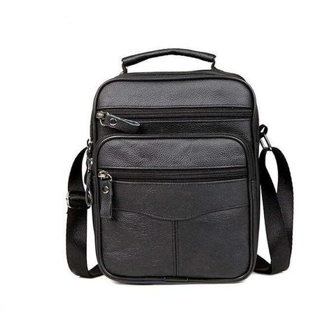 Fashion Genuine Leather Men's Messenger Bag