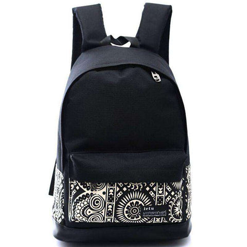 Canvas Backpack Men's Travel Bags