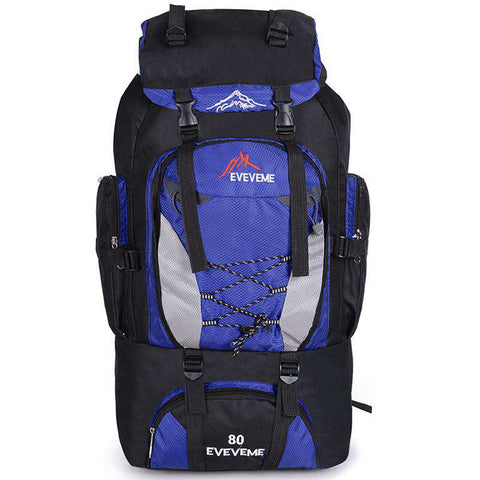 Large Capacity Mountaineering Bag Nylon Men's
