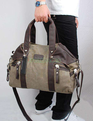 High Quality Men's Shoulder Cross Body Tote Casual Bag
