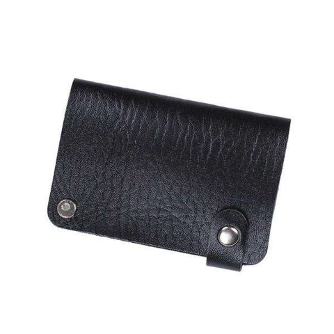 Leather Cards Purse Men Fashion