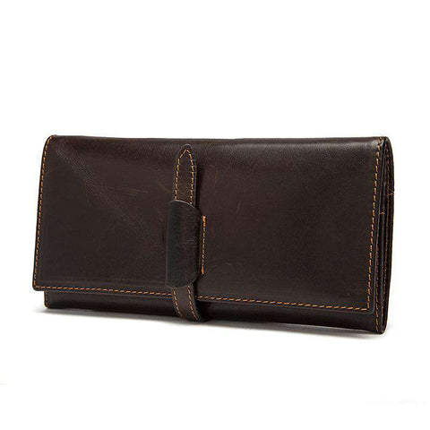 Leather bags Wallet Luxury Men's Long Wallet